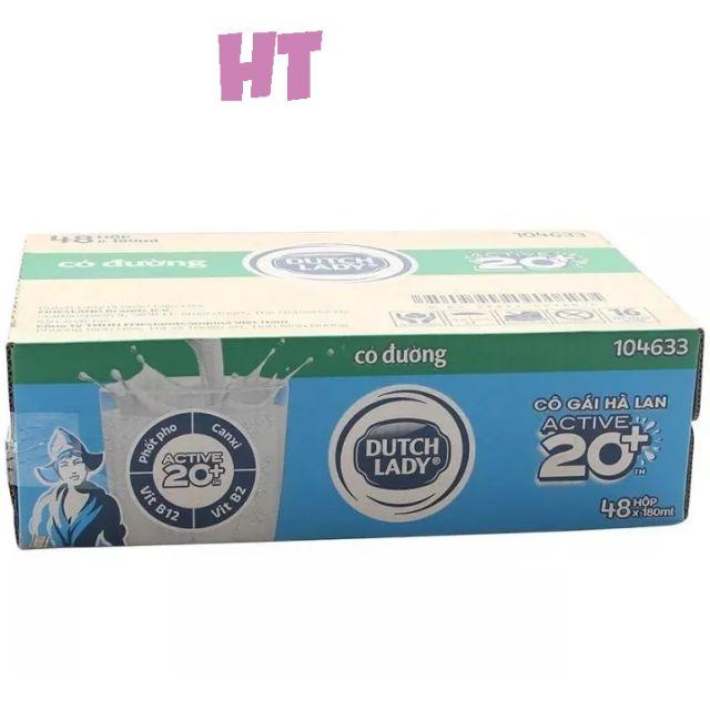 Thùng 48 hộp sữa Dutch Lady 20+ có đường 180ml. (Mẫu mới) - 3405642 , 753295193 , 322_753295193 , 290000 , Thung-48-hop-sua-Dutch-Lady-20-co-duong-180ml.-Mau-moi-322_753295193 , shopee.vn , Thùng 48 hộp sữa Dutch Lady 20+ có đường 180ml. (Mẫu mới)