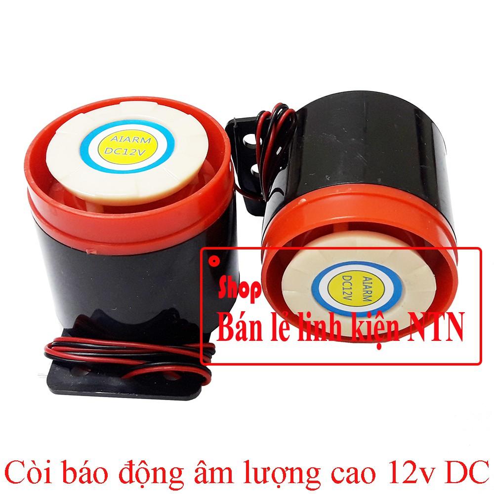 Còi báo động âm lượng cao 12v DC