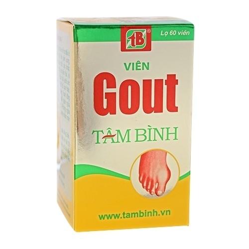 Viên Gout Tâm Bình - Giảm đau nhức khớp do Gout - 2543360 , 123797236 , 322_123797236 , 165000 , Vien-Gout-Tam-Binh-Giam-dau-nhuc-khop-do-Gout-322_123797236 , shopee.vn , Viên Gout Tâm Bình - Giảm đau nhức khớp do Gout