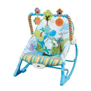 Ghế rung bập bênh nằm chơi thư dãn, nằm ăn bột kết hợp ngồi đọc sách cho bé từ 0 tới 18kg- 3562 thumbnail