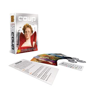 Coup English cards Game for 2-6 player