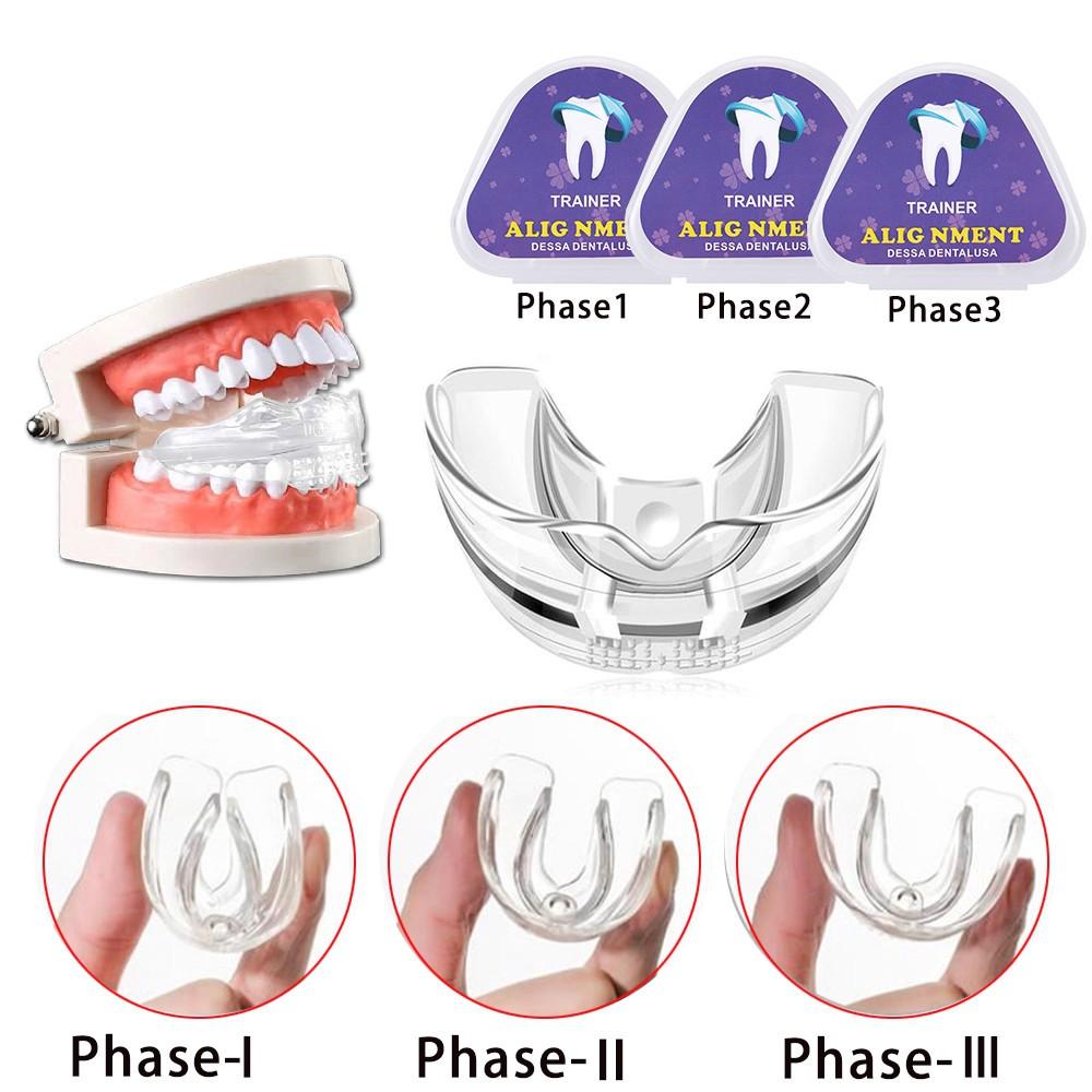 Bộ 3 Miếng Niềng Răng Chỉnh Hình Răng Chuyên Dụng Cho Người Lớn