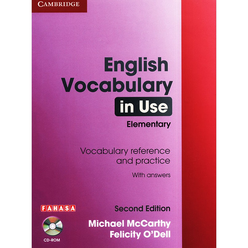 Sách - English Vocabulary in use - 2nd edition - Elementary (kèm CD) |  Shopee Việt Nam