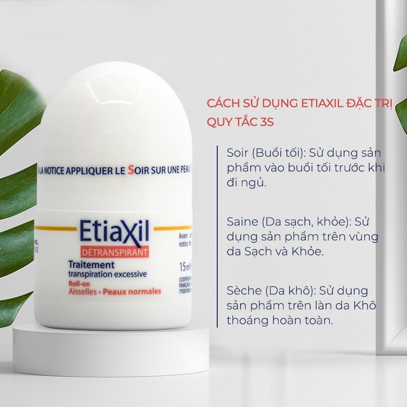 Combo 2 Sản Phẩm Ngăn Mùi Cơ Thể Nhãn Xanh 15ml và Nhãn Đỏ Etiaxil 15ml