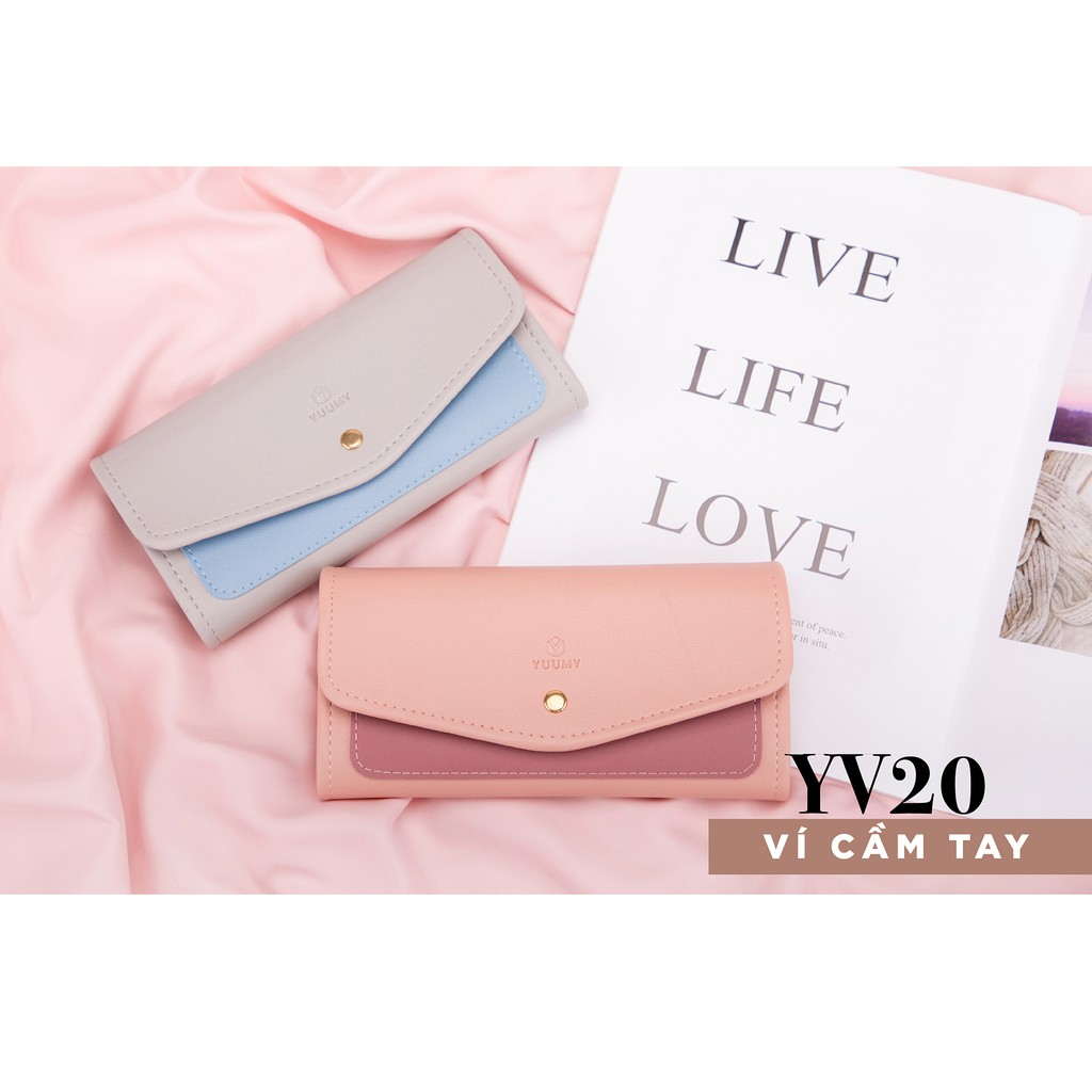 Ví nữ cầm tay thời trang YUUMY YV20 nhiều màu
