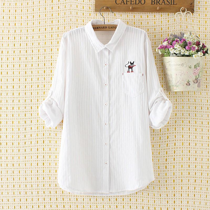 Fashion new spot quality super praise plus fertilizer XL women's 18 autumn new Korean version of loose fat mm kitten em