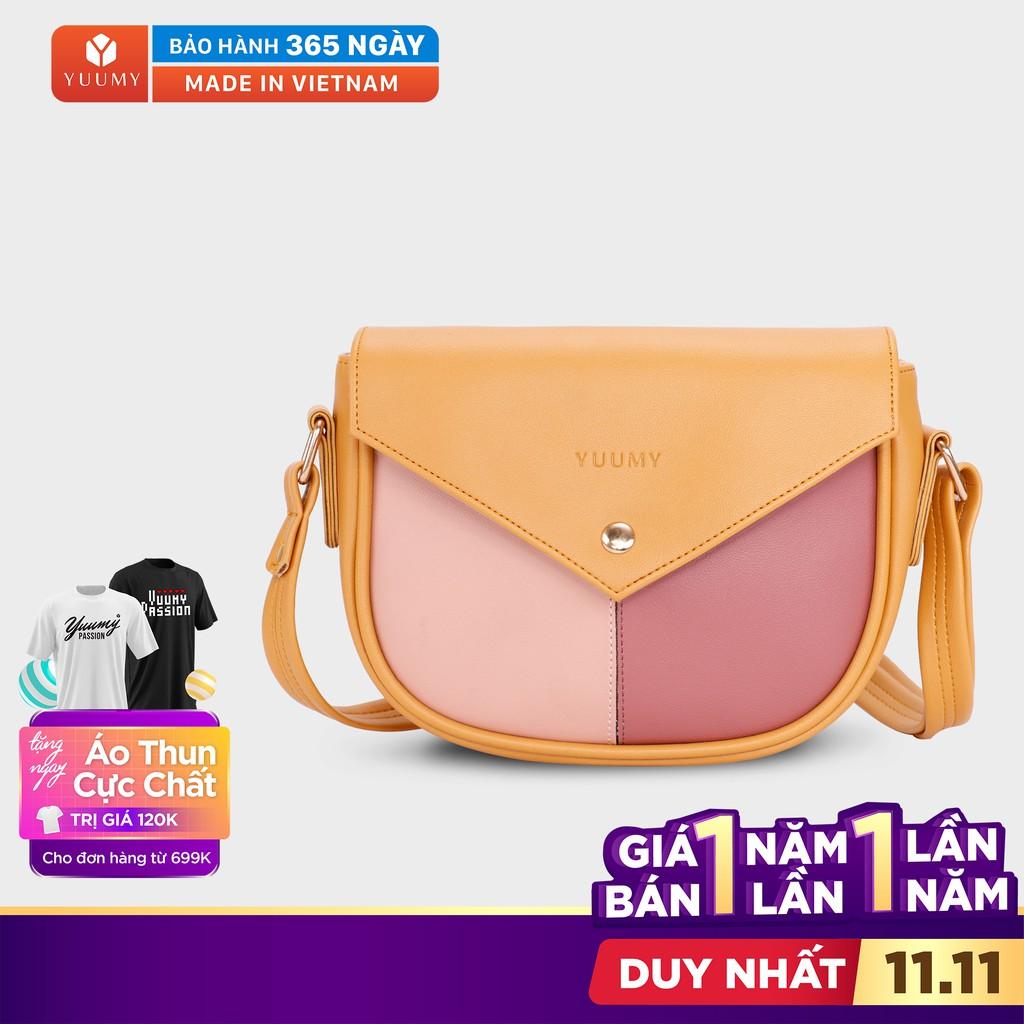 Túi đeo chéo thời trang nữ YUUMY YN51 nhiều màu