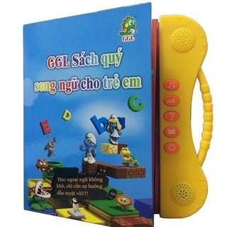 Sách Nói Điện Tử Song Ngữ Cho Bé (Anh – Việt) + Tặng kèm Gấu tiết kiệm cho bé