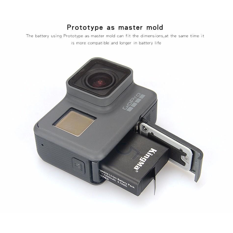 Siêu Hot HOT [Giá siêu rẻ] pin zin kingma cho camera hành trình gopro hero 5, hero 6, Cực chất.