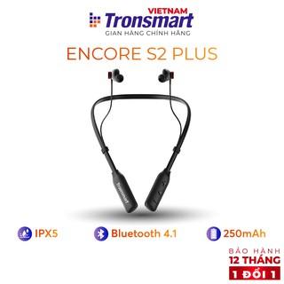 Tai nghe Bluetooth Tronsmart Encore S2 Plus Chống nước IPX5 Khử tiếng ồn - Hàng chính hãng - Bảo hành 12 tháng 1 đổi 1