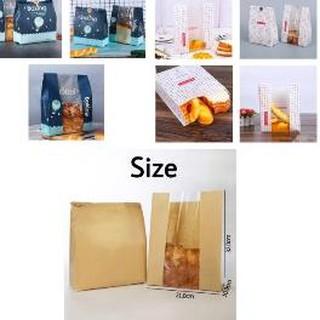 Túi nhựa đựng bánh mì / bánh mì tiện dụng