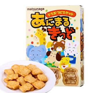 Bánh ăn dặm hình thú Matsunaga 35gr Nhật Bản HSD T9 2021 thumbnail
