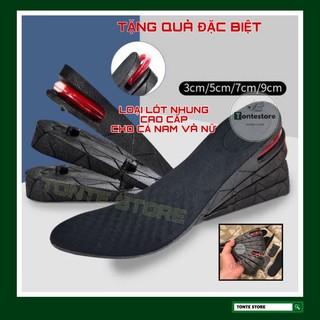 Lót giày tăng chiều cao cả bàn có đệm khí,dùng cho cả nam và nữ (có miếng lót nhung cao cấp) LOTGIAY thumbnail