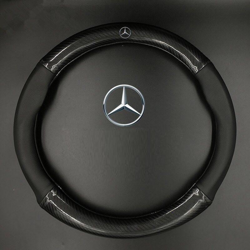 Bọc vô lăng Ô Tô Yêu Thích Vân cacbon, bọc vô lăng xe hơi gắn logo hãng xe Na No Smart Uy Tín Chất Lượng Loại 1