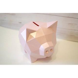 Mô hình giấy 3D Heo Vàng (Poly Craft)
