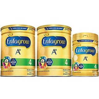 Combo 2 Lon Sữa Bột Enfagrow A 4 (1.75kg) - Tặng Lon Sữa Bột Enfagrow A 4 (870g)
