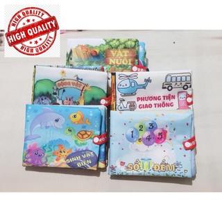 Bộ 4 sách vải anh Việt cho bé Shop Hà Anh