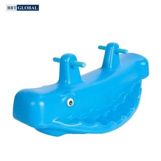 Bập bênh đơn đôi kết hợp cá voi BBT Global ZK1017B