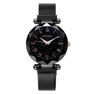 Đồng hồ thời trang nữ MEIBO dây lưới nam châm siêu đẹp