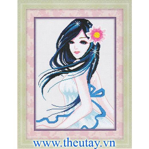 Tranh thêu chữ thập chưa thêu Cô Gái Xinh Đẹp (In Sẵn 100%) H0664 - 3198366 , 469277038 , 322_469277038 , 91000 , Tranh-theu-chu-thap-chua-theu-Co-Gai-Xinh-Dep-In-San-100Phan-Tram-H0664-322_469277038 , shopee.vn , Tranh thêu chữ thập chưa thêu Cô Gái Xinh Đẹp (In Sẵn 100%) H0664