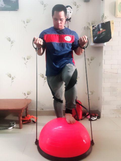 Bóng Bosu bóng tập thăng bằng
