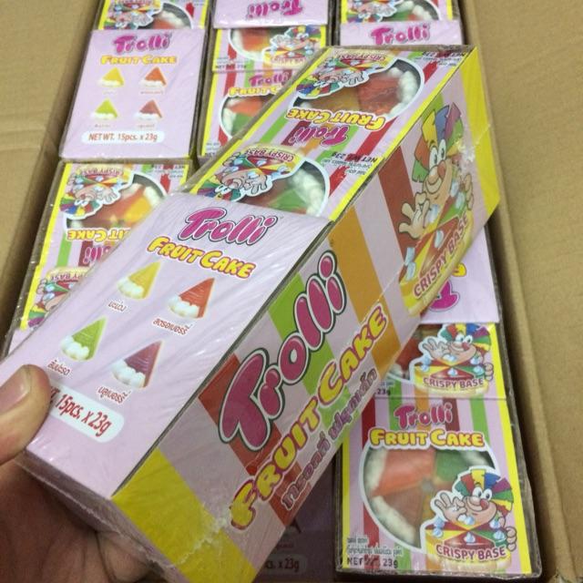 |Hộp Kẹo Dẻo | Hộp kẹo Dẻo Trolli Fruit Cake 345g(23g x15 cái) - 3142383 , 1188111159 , 322_1188111159 , 128000 , Hop-Keo-Deo-Hop-keo-Deo-Trolli-Fruit-Cake-345g23g-x15-cai-322_1188111159 , shopee.vn , |Hộp Kẹo Dẻo | Hộp kẹo Dẻo Trolli Fruit Cake 345g(23g x15 cái)