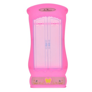 HEL❤ Wardrobe Closet for Barbies Doll Furnitures Bedroom Princess Miniatu