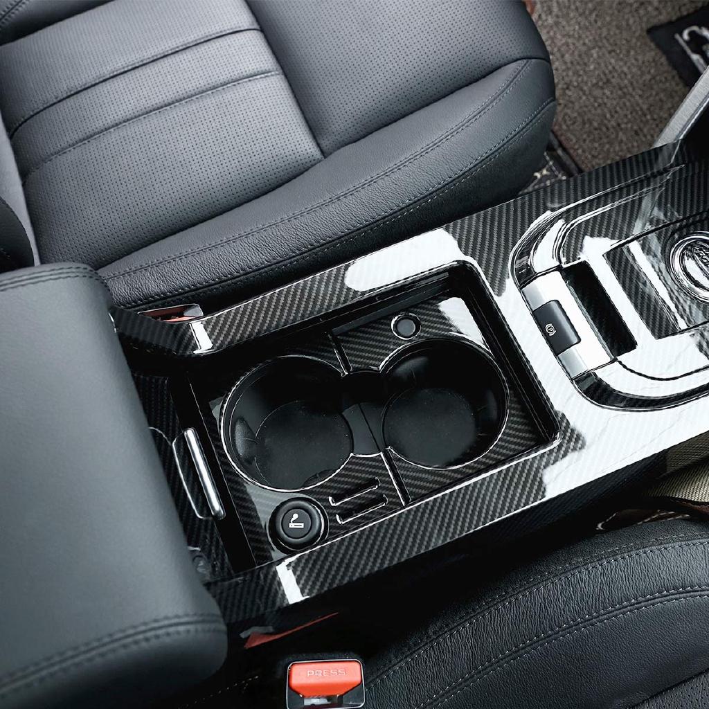 คาร์บอนไฟเบอร์สไตล์ ABS รถที่วางแก้วกรอบตัดสำหรับการค้นพบกีฬา 2015-2019