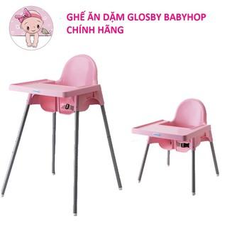 Ghế Ăn Dặm Glosby Babyhop Chân Điều Chỉnh Đã Bao Gồm Mặt Bàn