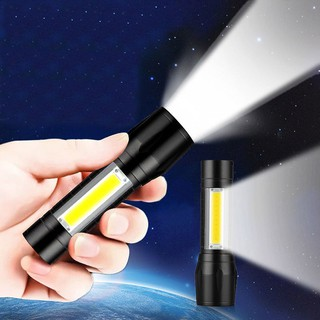 Đèn Pin MINI Siêu Sáng Cao Cấp Có Zoom 3In1
