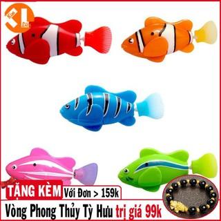Cá Robo Bể Cá Nhiều Màu (Trang Trí, Bé Chơi Khi tắm) (Màu Sắc Ngẫu Nhiên)