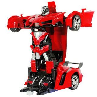 SUMMER SALES_ ĐồChơi Cho Bé – Ô Tô Biến Hình Thành Robot Transformers Điều Khiển Từ Xa – Ô Tô Biến Hình – 219