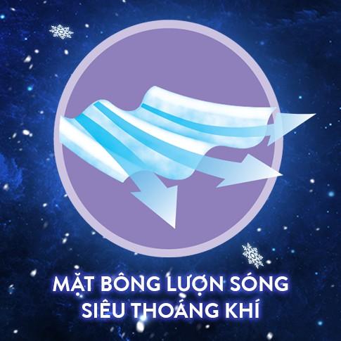 BVS Diana Sensi Đêm - Băng Vệ Sinh Diana Sensi Cool Fresh Night 29cm 4 Miếng/Gói & 35cm 3 Miếng/Gói