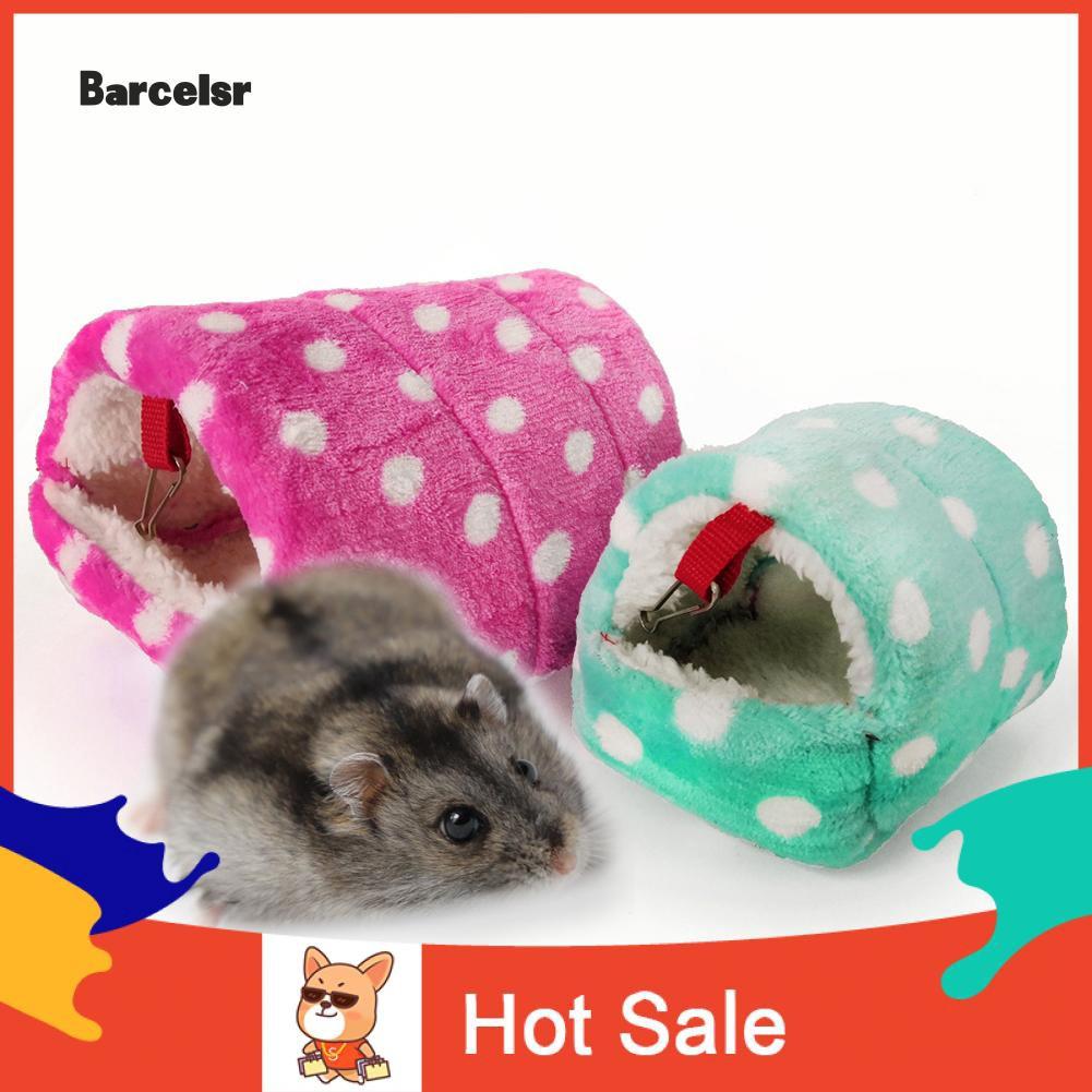 ♡ Mini Hamster Hedgehog Warm Chinchilla Guinea Pig Nest Small Animal Pet Bed House