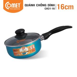 [Mã HLCOMET12 giảm 15% tối đa 50K đơn 100K] Quánh chống dính Ceramic 16cm COMET - CH31-16 thumbnail