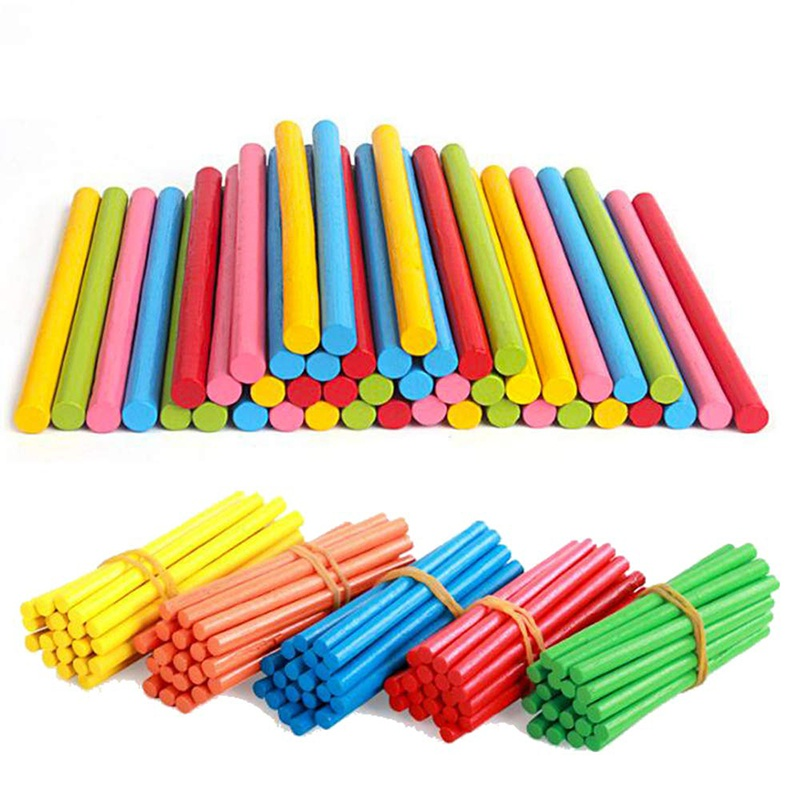 Children'S Educational Toys Arithmetic Stick Count Wooden Kids Toys Counting Stick