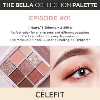 Bảng phấn mắt Celefit The Bella Collection 17g