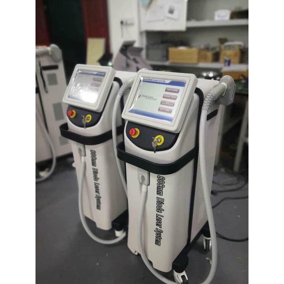 Máy triệt lông thông minh Diode Laser 808nm - công nghệ bán dẫn nhiệt lạnh [LỖI 1 ĐỔI 1 - BẢO HÀNH 12 THÁNG]