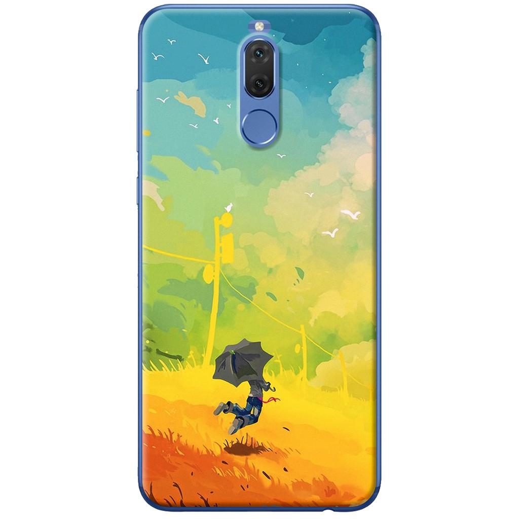 Ốp lưng nhựa dẻo Huawei Nova 2i Cậu bé hoàng hôn