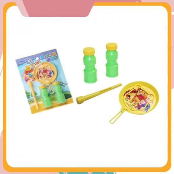 [Sale Siêu Hot] Bộ thổi bong bóng xà phòng Pooh cho bé