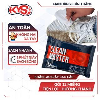 [Độc Quyền] Khăn lau giày vệ sinh giày cao cấp cho giày thể thao, giày sneaker, giày da - Clean Master KYS Plus thumbnail
