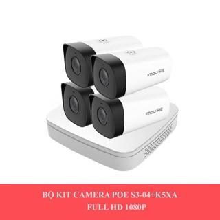 Combo đầu ghi Lechange S3 04 P và 4 mắt camera K5XA thumbnail