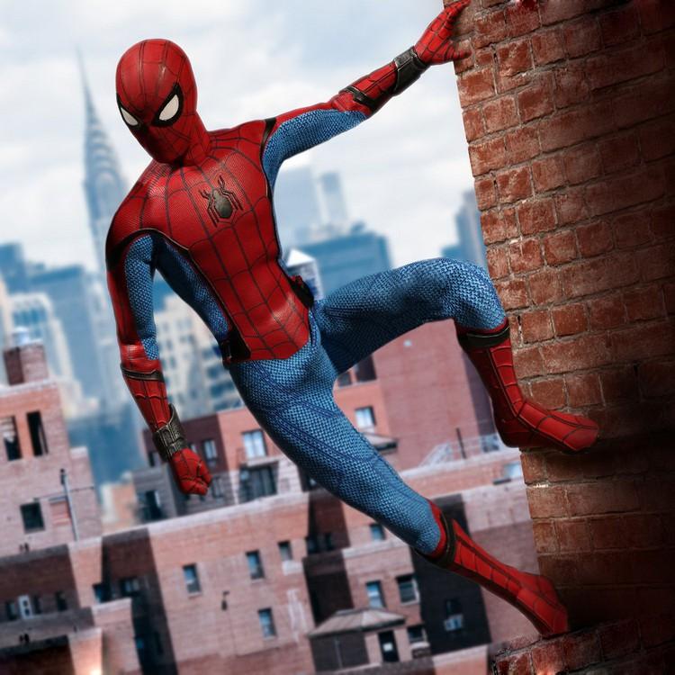 Fulian MEZCO Ant 1/12 Người nhện trở lại trường học Anh hùng trở về thám hiểm Bàn tay mô hình vải di động 6 inch