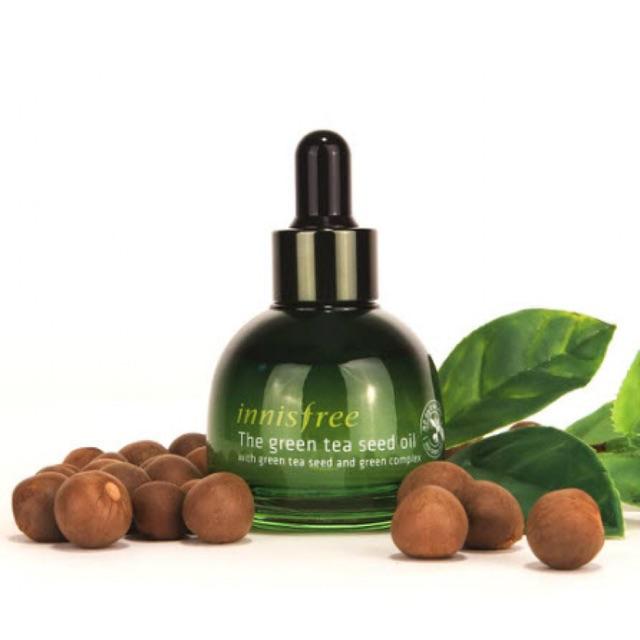 Tinh Dầu Chiết Xuất Hạt Trà Xanh Innisfree Green Tea Seed Oil