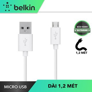 Cáp Micro USB Belkin MIXIT F2CU012BT04 1,2 Mét Sạc Nhanh Thương Hiệu Mỹ thumbnail