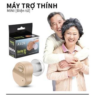 máy trợ thính không dây đeo sau vành tai máy trợ thính siêu nhỏ máy trợ thính cho người già Có pin thumbnail