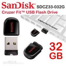 Ổ cứng di động 32GB CZ33 Cruzer Fit USB 3.0 Sandisk
