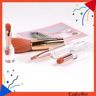 CODseller 4 in1 Makeup Brush Exquisite Lightweight Nylon Wool Practical Powder Brush for Eyebrow