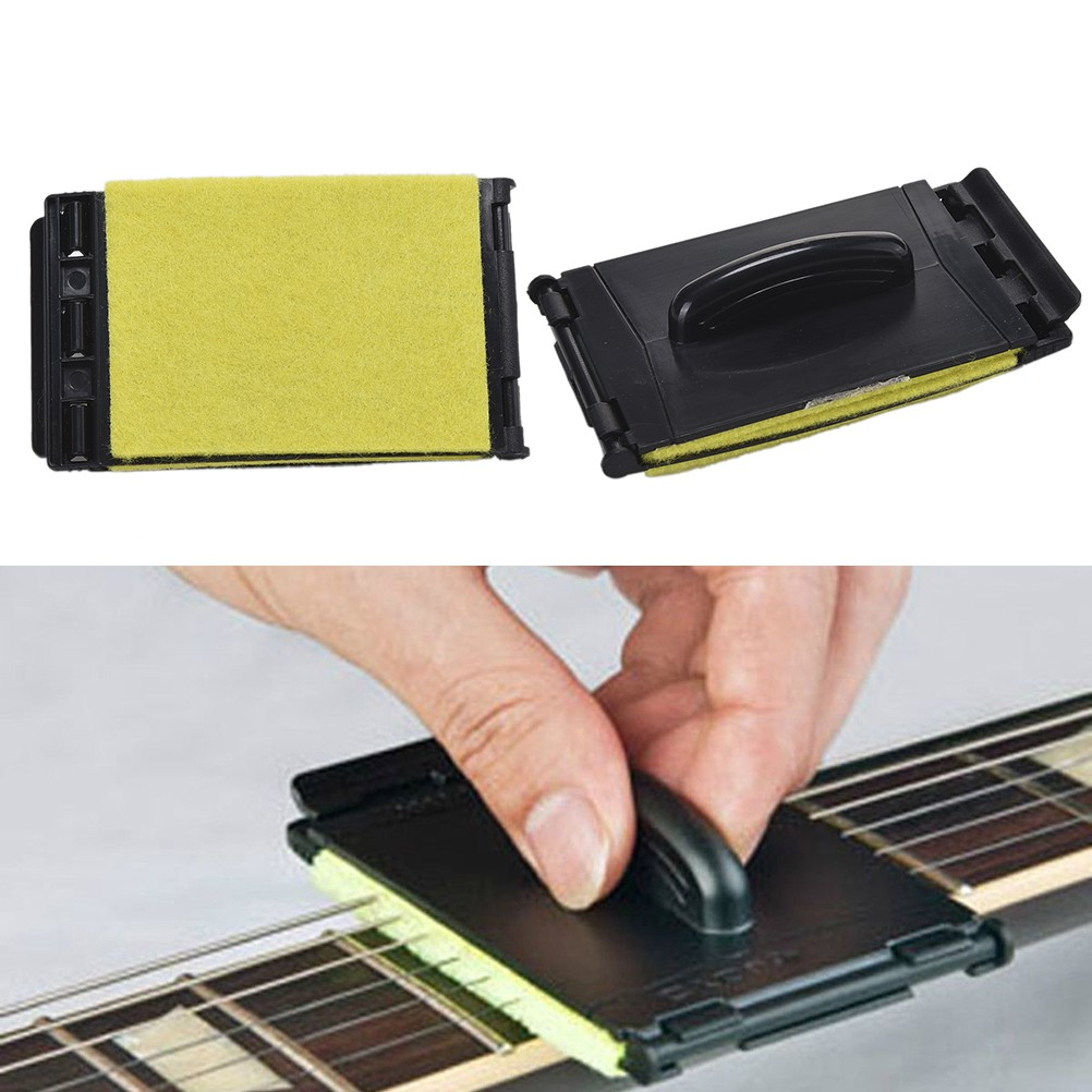 [HO&OFF] New Quick-Set Bass Guitar String Fingerboard Cleaner for Instrument Body Strings