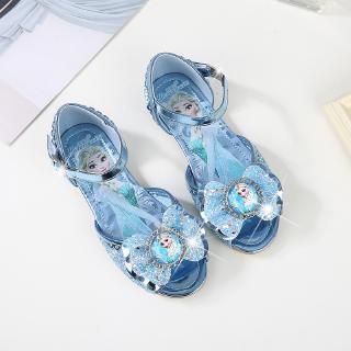 Giày sandals họa tiết công chúa Frozen xinh xắn cho bé gái